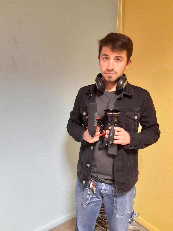 Dietro la videocamera: Ilija!