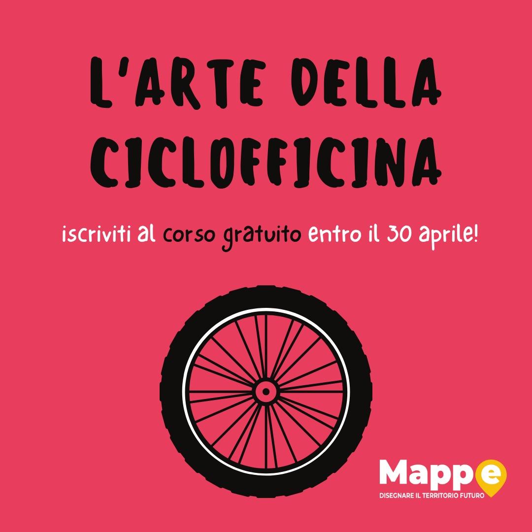 Il secondo corso gratuito: L'arte della ciclofficina