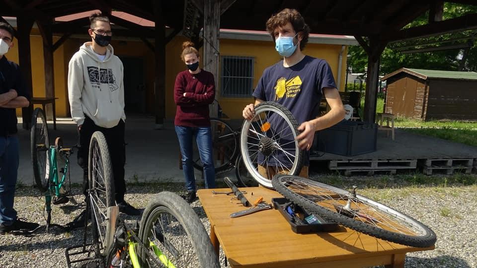 Nasce la Ciclofficina Pignone a-Spazio4